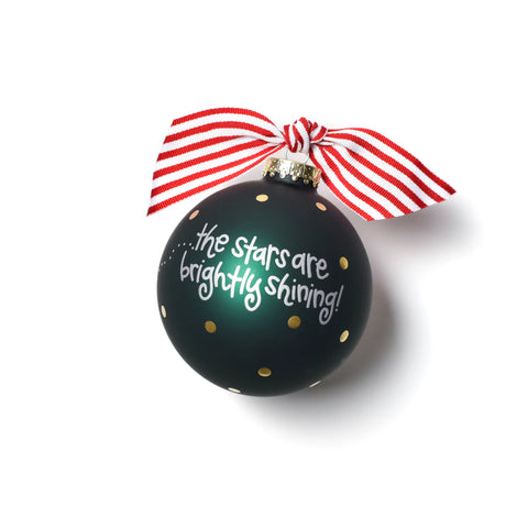 Coton Colors O Holy Night Glass Ornament