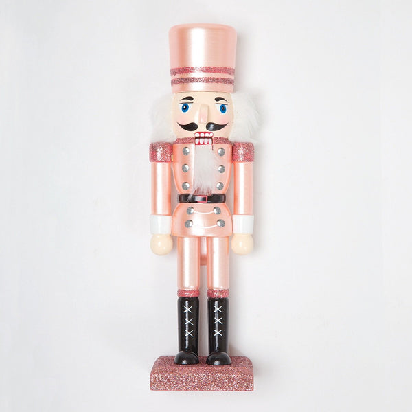 Rose Gold Small Nutcracker