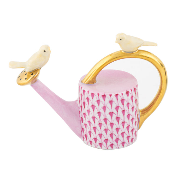 Herend Watering Can With Birds