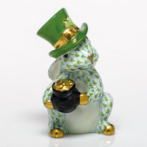 Herend Leprechaun Bunny, Key Lime