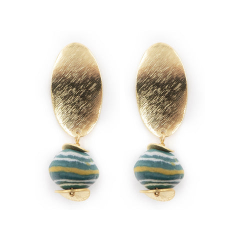 Hazen & Co. Scotty Earrings