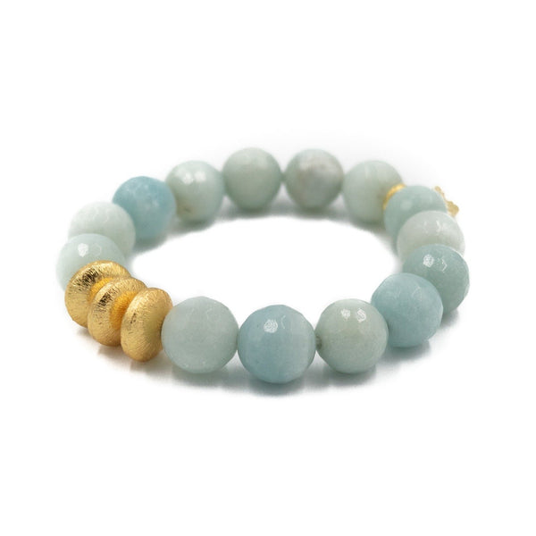Hazen & Co. Sheldon Bracelet, Amazonite