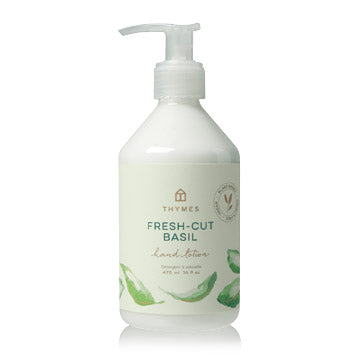 Thymes Hand Wash and Lotion, Fresh Cut Basil