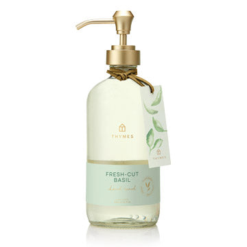 Thymes Large Hand Wash, Fresh Cut Basil