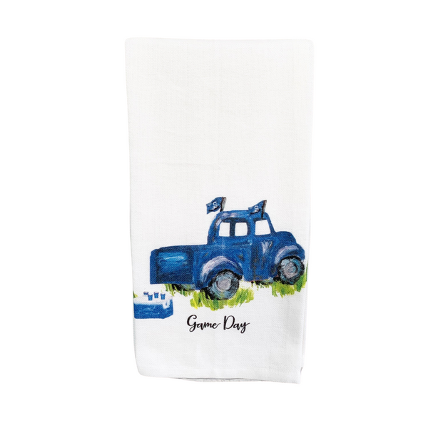 GSU Game Day Truck Tea Towel