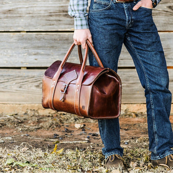 Kingfisher Leatherworks Physician's Weekender