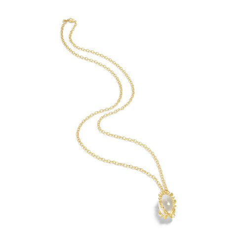 Capucine de Wulf Bliss Pendant, Clear Quartz