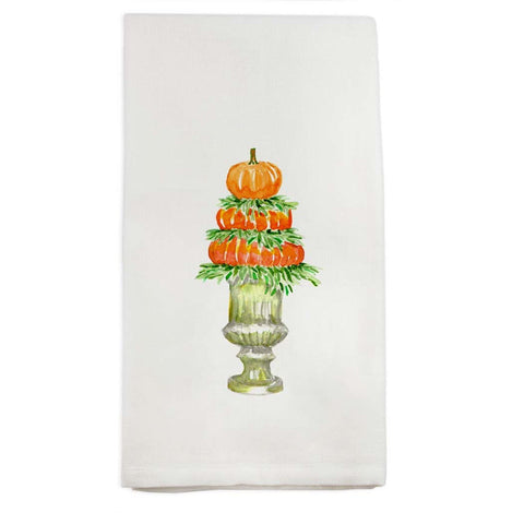 Pumpkin Topiary Towel