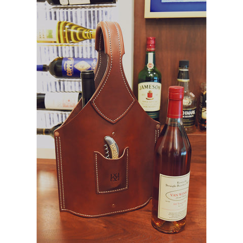 Bottle Tote, Double Barrel