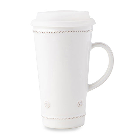 Juliska Berry & Thread Whitewash Travel Mug