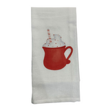 Hot Chocolate Mug Tea Towel