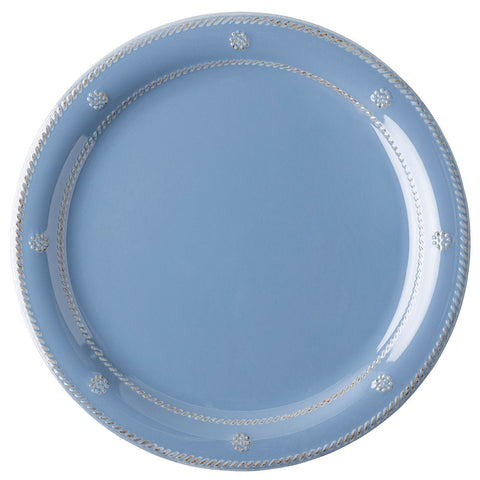 Juliska Berry & Thread Melamine Chambray Dinner Plate