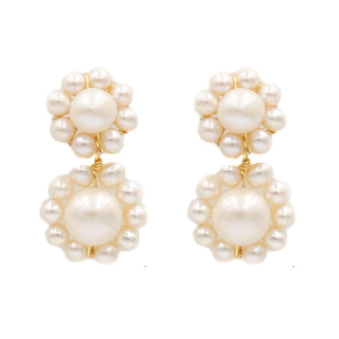 Hazen & Co. Marie Earring, Double