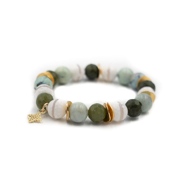 Hazen & Co. Phoebe Bracelet, Green