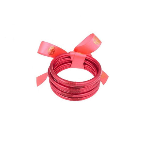BuDahGirl PINK ALL WEATHER BANGLES® (AWB®) - SERENITY PRAYER