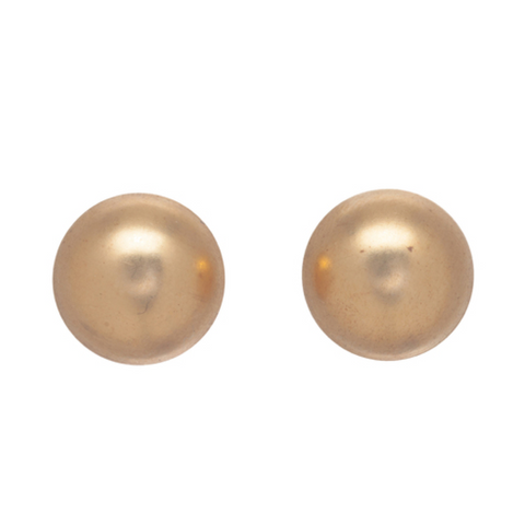enewton Classic 12mm Button Stud - Gold