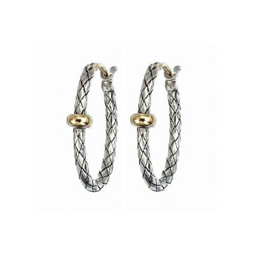 Alisa Traversa Small Oval Hoop Earring