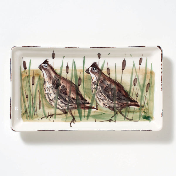 Vietri Wildlife, Rectangular Platter
