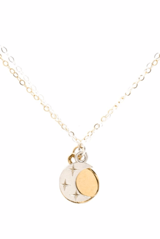 Moorea Seal Eclipse Friendship Mixed Necklace - Ro & Jewel