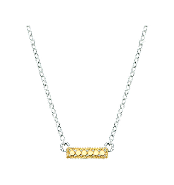 Anna Beck Gili Pendant Necklace - Silver & Gold - ro-and-jewel