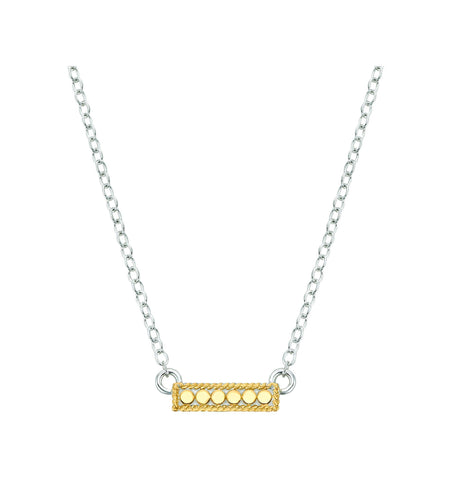 Anna Beck Gili Pendant Necklace - Silver & Gold - Ro & Jewel