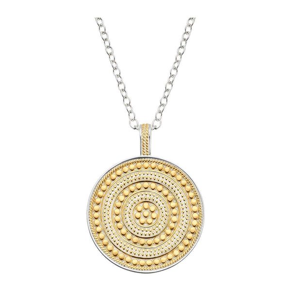 Anna Beck Circle of Life Charity Necklace (Reversible) Gold & Silver - Ro & Jewel