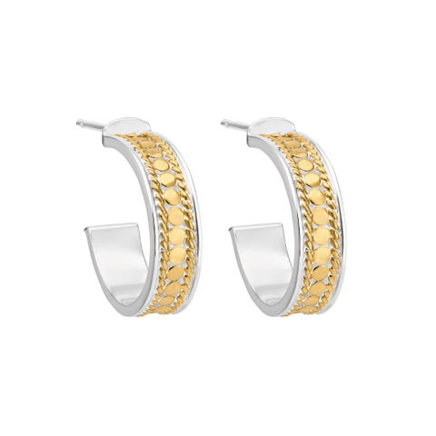 Anna Beck Gold Hoop Post Earrings - Ro & Jewel