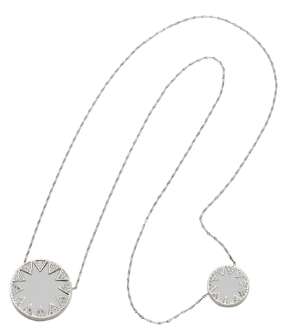 House of Harlow 1960 Double Sunburst Necklace - ro-and-jewel