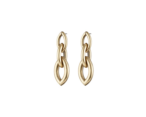 Jenny Bird Gold Sloane Drops Earrings - ro-and-jewel