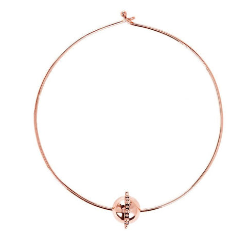 Luv AJ Baroque Statement Choker Rose Gold - ro-and-jewel