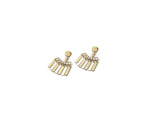 Jenny Bird Silver & Gold Raya Ear Jackets - ro-and-jewel
