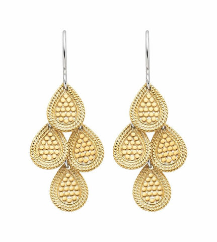 Anna Beck Gold Gili Chandelier Earrings - Ro & Jewel