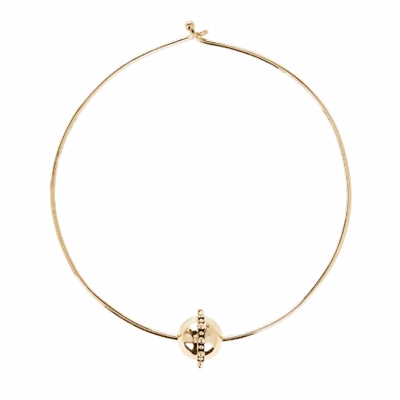 Luv AJ Baroque Statement Choker Gold - ro-and-jewel