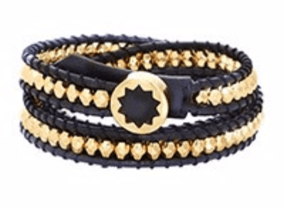 House of Harlow 1960 Karma Wrap Gold Bracelet - ro-and-jewel