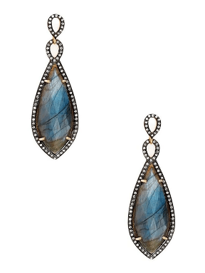 Chan Luu Labradorite Statement Dangle Earrings - Ro & Jewel