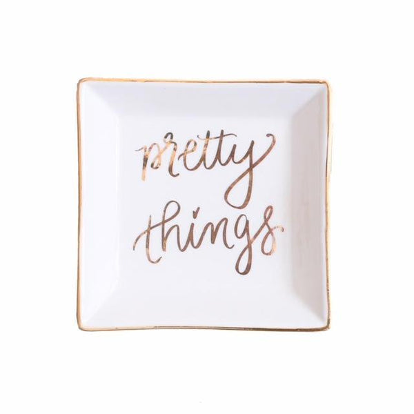 Sweet Water Decor Pretty Things Jewelry Dish - ro-and-jewel