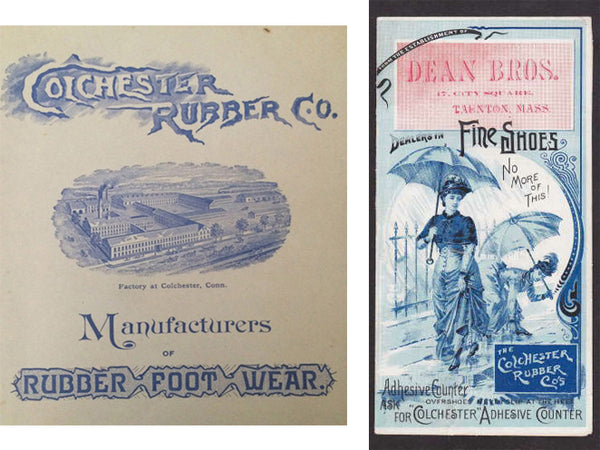 colchester rubber co ads