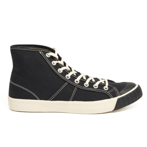 colchester rubber co black hightop sneaker shoe