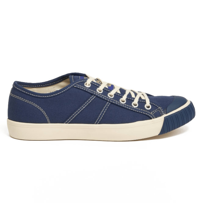 colchester rubber co navy lowtop