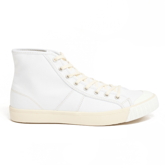 colchester rubber co white sneaker high top