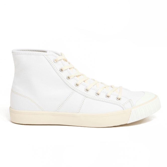 1892 National Treasure High Top- Ecru White