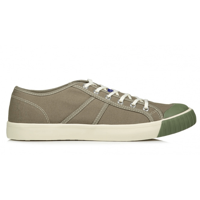 colchester rubber company sneakers olive