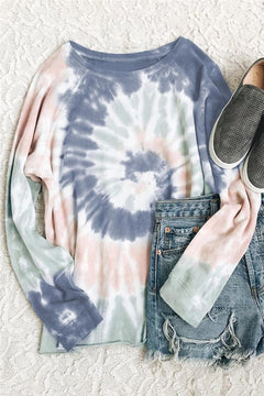 ALL TIE DYED UP SWEATSHIRT