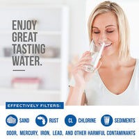 Aqua Blue water filter compatible with-Kenmore 9030, 9083 Refrigerator Compatbile Water Filter NSF Certified