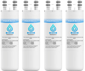 Aqua Blue water filter (3 pack) compatible with Frigidaire WF3CB PureSource3 242069601 Refrigerator Water Filter