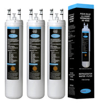 Aqua Blue water filter (3 pack) compatible with Frigidaire FPHS2687KF0, FGHS2631PH Refrigator Water Filter