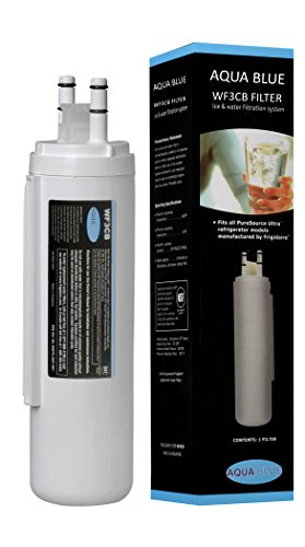 Aqua Blue water filter compatible with Frigidaire WF3CB Puresource Replacement Refrigerator Water Filter