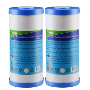2Pack GE FXHTC Replacement Whole House Water Filter