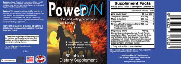 power dn label