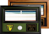 "Hole-in-One Ball & 4""x12"" Scorecard Display - ProActive Sports Tournament Store"
